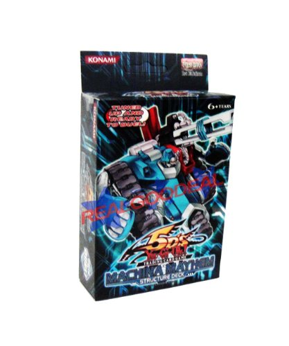 Yu-Gi-Oh Cards 5D's - Structure Deck - MACHINA MAYHEM [Toy] -