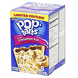 Cinnamon Roll Limited Edition Pop Tarts