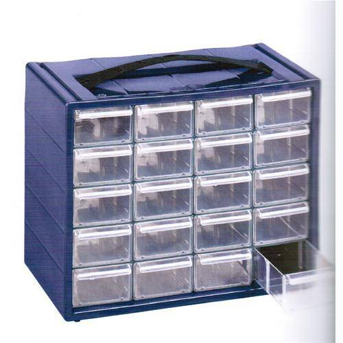 Cassettiera Monoblocco 'Espace' In Resina Antiurto E Cassetti Infrangibili Con Fermo. Dotata Di Divisori Estraibili.Dimensioni :Lxpxh