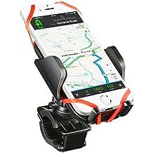 Soporte Movil Bicicleta Universal, Mpow Soporte de Móvil y Cámara Deportiva para Bicicleta Motocicleta Apoyo 360 Rotación,con 2 Silicona Banda, Brazo Ajustable Compatible con iPhone 7 / 7 Plus / 6 / 6s / 6 plus, Google Nexus 5/4, HTC BQ y Dispositivo del