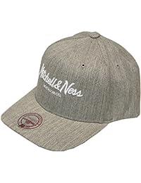 Mitchell & Ness FLEXFIT Snapback Cap - BRAND SCRIPT gris