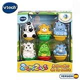 VTech- Set de 6 Zoomizooz Selva, Color (3480-439822)