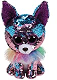 Ty - TY36268 - Flippables - Peluche à sequins Yappy le Chihuahua 15 cm