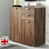 Kommode Sideboard Highboard Anrichte Standschrank P82 Typ 120 stirling eiche