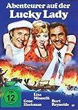 DVD Cover 'Abenteurer (Abenteuer) auf der Lucky Lady - Gene Hackmann, Liza Minnelli, Burt Reynolds