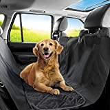 Best Dog Car Seats Covers - PetTech Luxury Dog Car Seat Cover For Rear Review