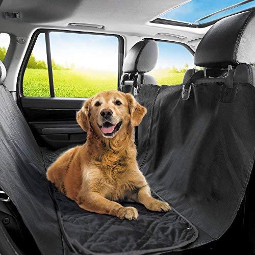 Protector de tapicería para perros (grandes y pequeños), instalación sencilla y fácil de limpiar, protege tu coche, 100 % impermeable Cubierta Asiento Coche Perro, diseño antideslizante