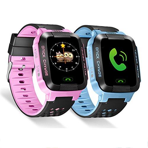 Pueri 1.44in Smartwatch para Niños Reloj Inteligente Pantalla Táctil HD Soporte de...
