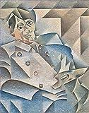 Toperfect 50€-2000€ Handgefertigte Ölgemälde - Porträt von Pablo Picasso Juan Gris Gemälde auf Leinwand Kunst Werk Ölmalerei - Malerei Maße14