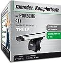 Rameder Komplettsatz, Dachträger WingBar für PORSCHE 911 (114815-02033-4)