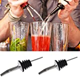 Generic 2PCS Stainless Steel Liquor Pour...