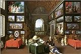 Posterlounge Impresión en metacrilato 180 x 120 cm: Linder Gallery de Jan Brueghel d.Ä. / akg-Images