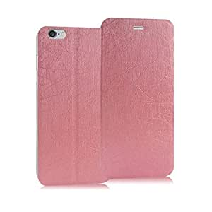 Heartly Premium Luxury PU Leather Flip Stand Back Case Cover For Apple iPhone 6 4.7 inch / Apple iPhone 6S 4.7 inch - Cute Pink