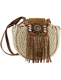 Bluebags Eferri - Bolso Nature Boho Hand Natural, Women'S Messenger Bag, Beige - Natural