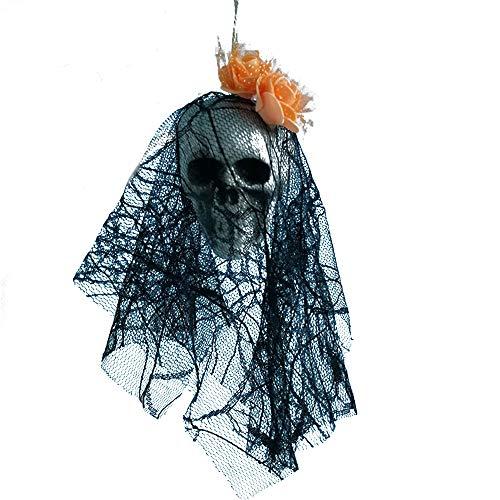 Piraten Wirbelt - HROIJSL Halloween Schädel Dekoration Halloween hängende