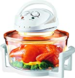 New Large 17 Litre White Premium Convection Halogen Oven Cooker 2 Year Warranty
