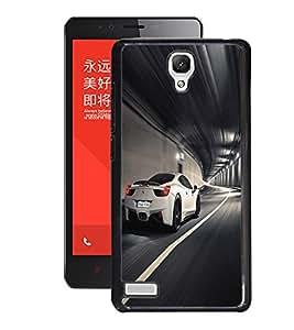 Fuson 2D Printed Car Designer Back Case Cover for Xiaomi Redmi Note 4G - D567