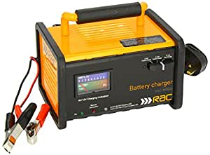 rac car battery charger instructions