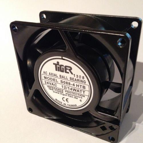 Lüfter, Axial, 24V AC, 80x80x38mm, Kugellager high speed TIGER - Ac-gebläse-ventilator
