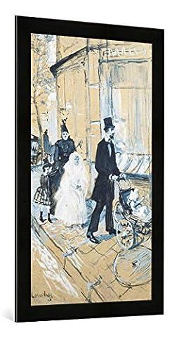 Gerahmtes Bild von Henri de Toulouse-Lautrec
