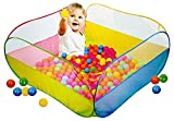 #5: Magicwand® Large Size Square My Ball Pool With 50 Free Balls