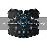 Abdominal Device Replacement, Hatsubi Smart Abdominal Belt Massage Muscle Device Gel Pad Accessory