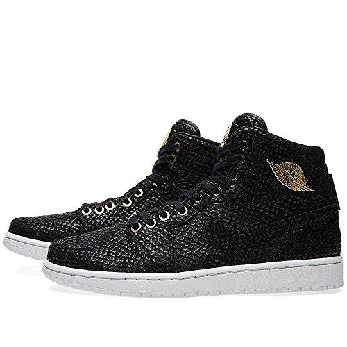 Pináculo Nike Jordan Tênis mtlc preto Wht 1 Mtllc Preto Ouro Homens Air Ouro Smmt Sabe qrRgwEXr