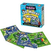 BrainBox - 20 More! The world, juego de memoria en inglés (31690051)