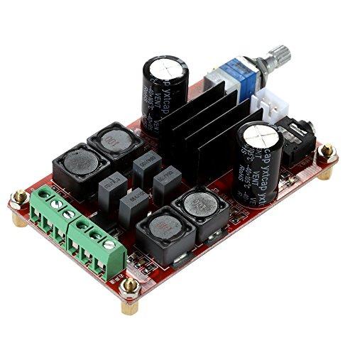 KKmoon TPA3116D2 2 x 50W DC12V 24V Dual Channel Digitale Verstärker-Brett Leistungsverstärkerplatine Klasse D Audio Stereo AMP