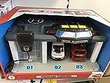 Dickie Toys 203716015 Rescue Center SOS Rettungsstation mit Polizeiauto, Feuerwehrauto und Krankenwagen