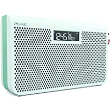 Pure One Maxi S3s Portable Digital DAB/DAB+ and FM Radio with Alarm - Jade White