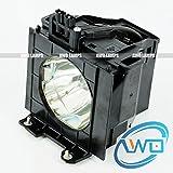 AWO ET-LAD55 / ET-LAD55W Premium Quality Bulb/Lamp with Housing Fit for PANASONIC PT-D5500U