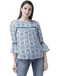74a9cdeac71a30 Amazon.in: Rayon - Shirts / Tops, T-Shirts & Shirts: Clothing ...