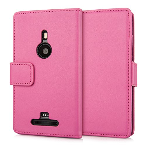 nokia-lumia-925-case-hot-pink-pu-leather-wallet-cover