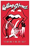 Empire Merchandising 624390 Rolling Stones - It's Only Rock N Roll - Musikposter Classic Rock - Größe 61 x 91.5 cm