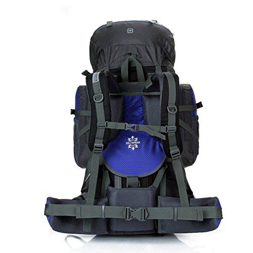 Pathfinder Pionier Outdoor-Klettern Paket 85L Verschl¨¹sselung wasserdicht Nylon regen Abdeckung Bergtaschen Gro?handel Fleck Blau