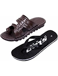 IndiWeaves Men Comfortable Flip-Flops And House Slippers Hawaii Flip Flops Hawaii Slippers