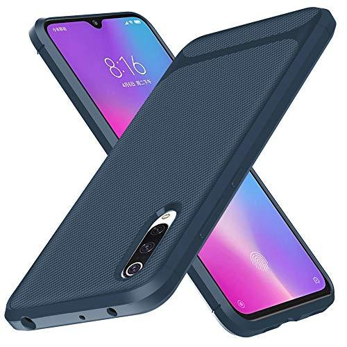 Aceniy Estuche Xiaomi Mi 9, [Estuche Blando Negro] Estuche Protector de Silicona Ultrafino Estuches Suaves de TPU Estuche para teléfono para Estuche Xiaomi Mi 9 Smartphone