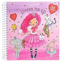 Depesche 10444 Sticker Book Dress Me Up Princess Mimi, ca. 16 x 15.5 x 1.5 cm, multi-coloured