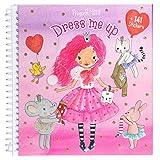 Depesche 10444 - Libro Adesivo Dress Me up Princess Mimi, ca. 16 x 15,5 x 1,5 cm, Multicolore