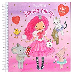 Top Model- Sticker Book-Dress me up-My Style Princess, Multicolor, Talla Única (DEPESCHE 10444)