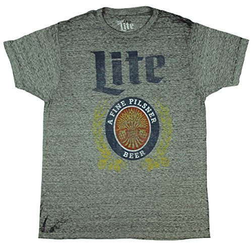 miller-lite-a-fine-pilsner-beer-vintage-licensed-heather-adult-t-shirt-x-large
