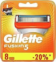 Gillette Fusion Razor Blade Refills x8