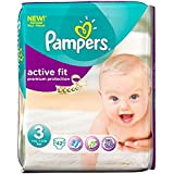 Pampers Active Fit Taille 3 Midi 4-9kg (42) - Paquet de 2