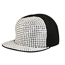 Merchant eShop Silver Hip Hop New stylish Fancy Funky Nail Men s Boys Cap  Image 35cd2175943