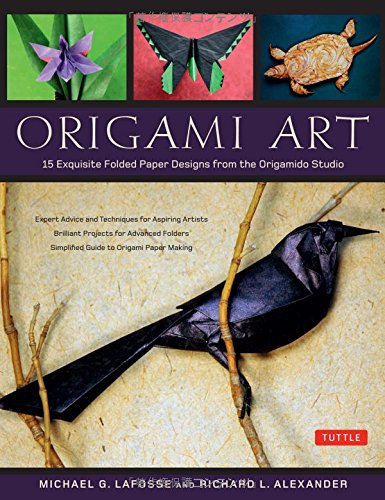 Origami Art 15 Exquisite Folded Paper Designs From The Origamido Studio Origami Book 15 Projects