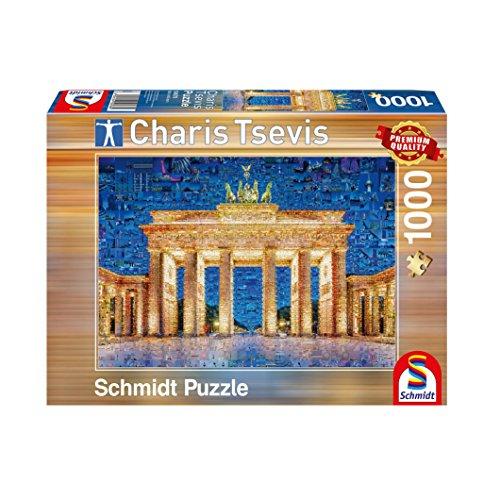 Schmidt Spiele Puzzle 59578 Berlin, Charis Tsevis, Puzzle, 1000 Teile