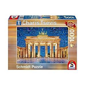 Schmidt Spiele Puzzle 59578Berlin, Charis tsevis, Rompecabezas, 1000Piezas