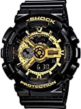 GIVME Dual Time Analogue Digital Multicolour Dial Men's Watch - S.SHCK_GOLDEN