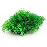 Planta artificial de cesped para acuario color verde oscuro